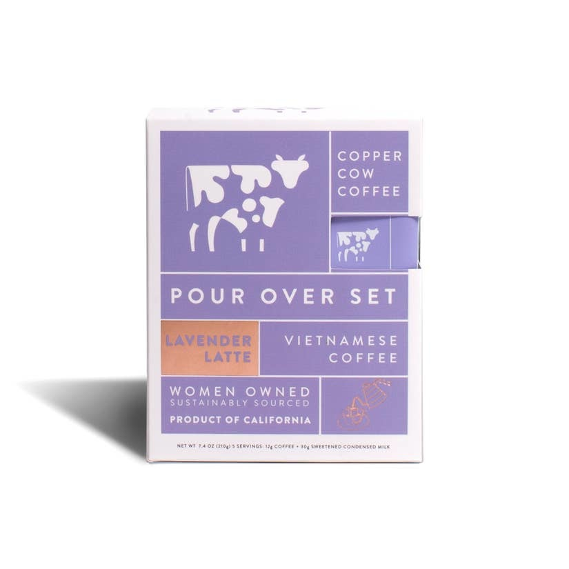 Copper Cow Coffee Coffee - Lavender Latte 5-Pack