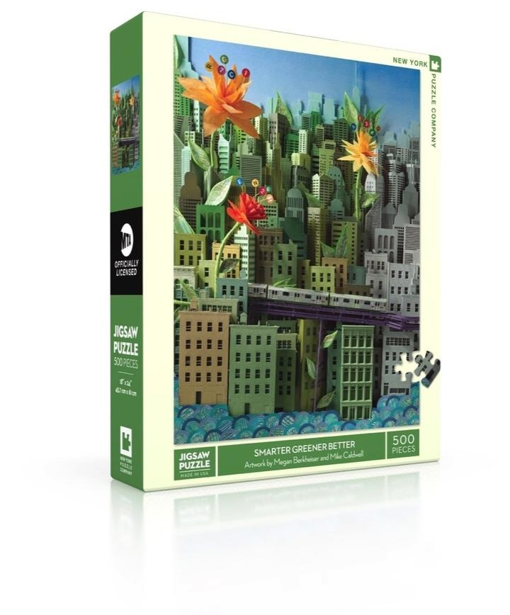 New York Puzzle Company Smarter Greener Better