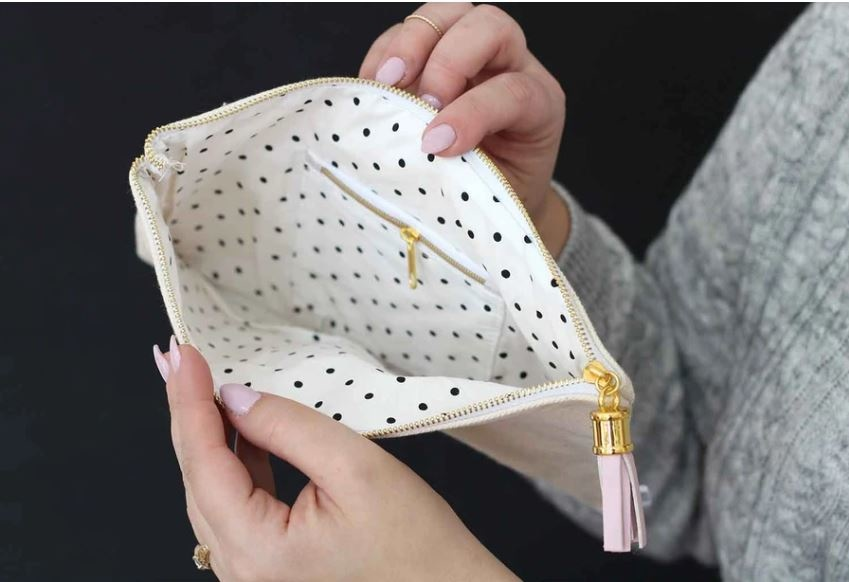 Lily & Val Bobby Pins Zippered Pouch