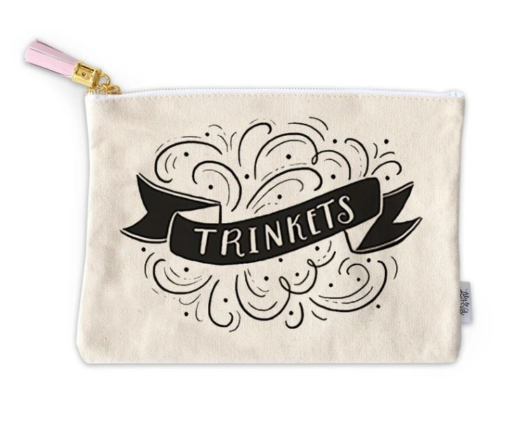 Lily & Val Trinkets Zippered Pouch