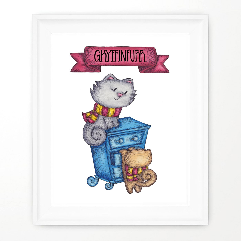 About a Cloud Gryffinfurr Print