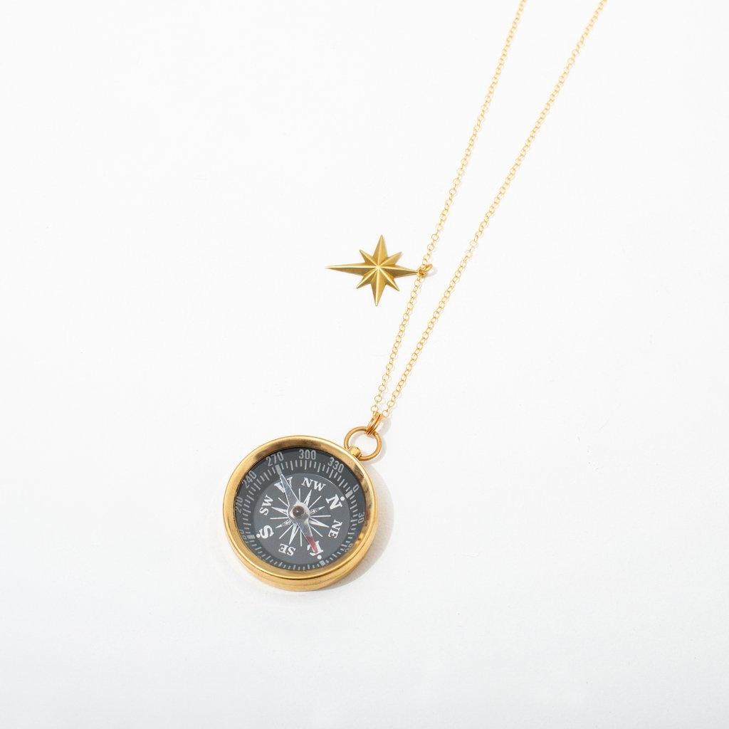 Larissa Loden Compass Necklace