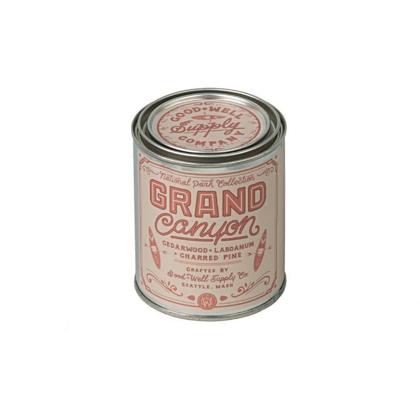 Good & Well Supply Grand Canyon Candle - Charred Pine Cedar & Labdanum