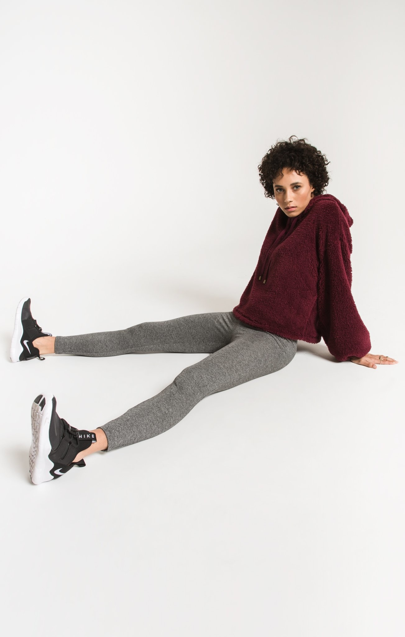 Z Supply The Mod Stretch Legging-Heather Grey