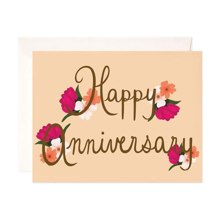 Bloomwolf Studio Happy Anniversary Card