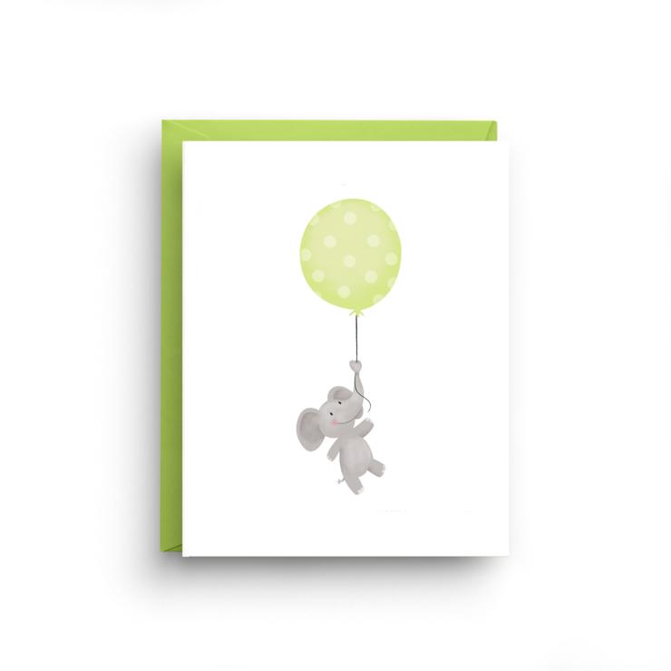 Nicole Marie Paperie Elephant Balloon