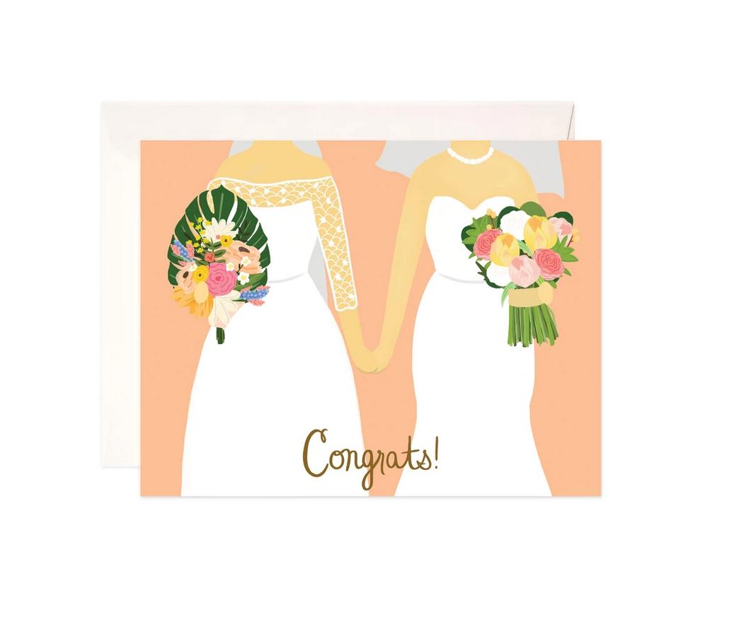 Bloomwolf Studio Brides Congrats