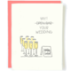 Pop + Paper Open Bar Wedding Card