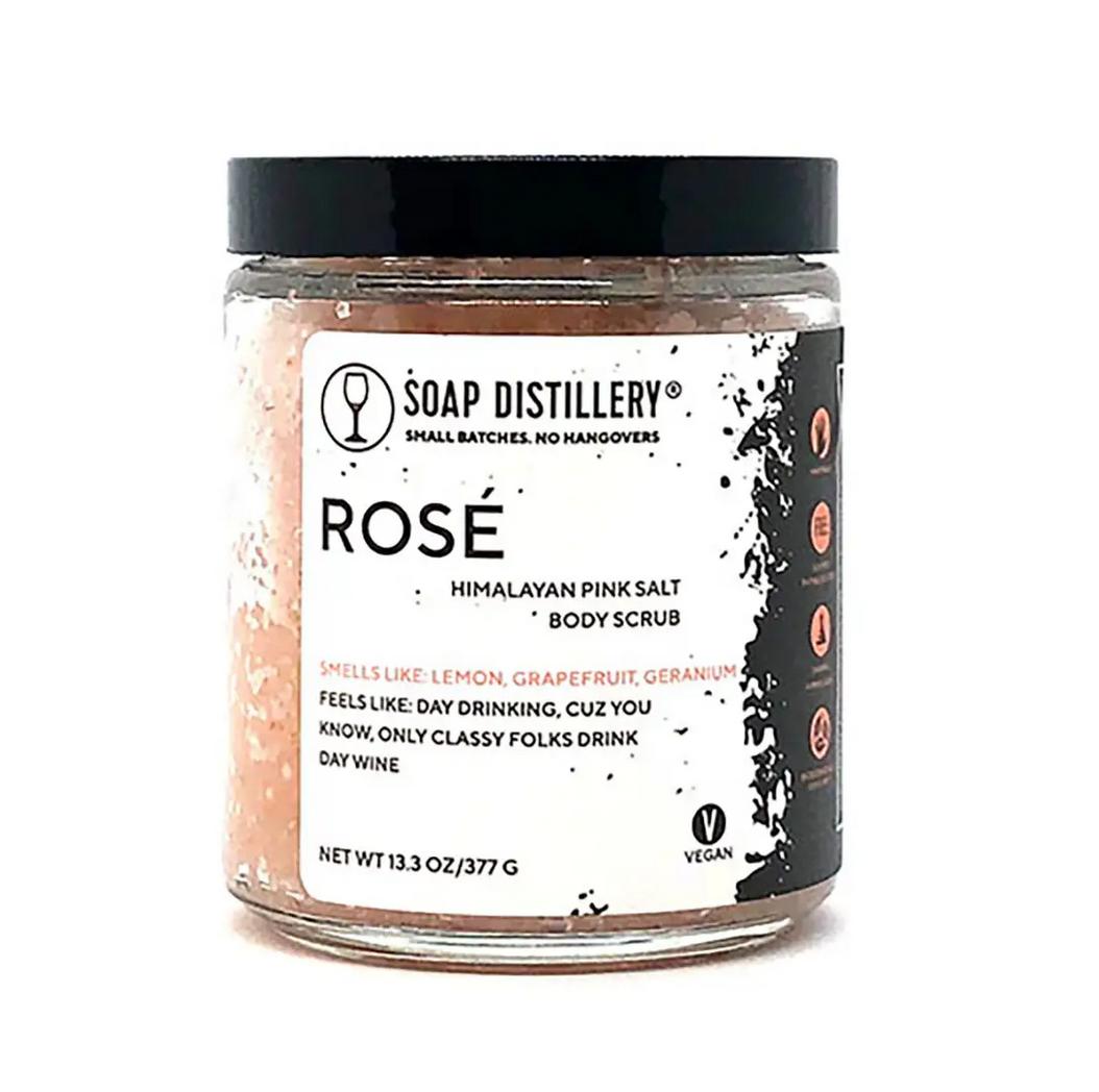 Soap Distillery Rosé Body Scrub