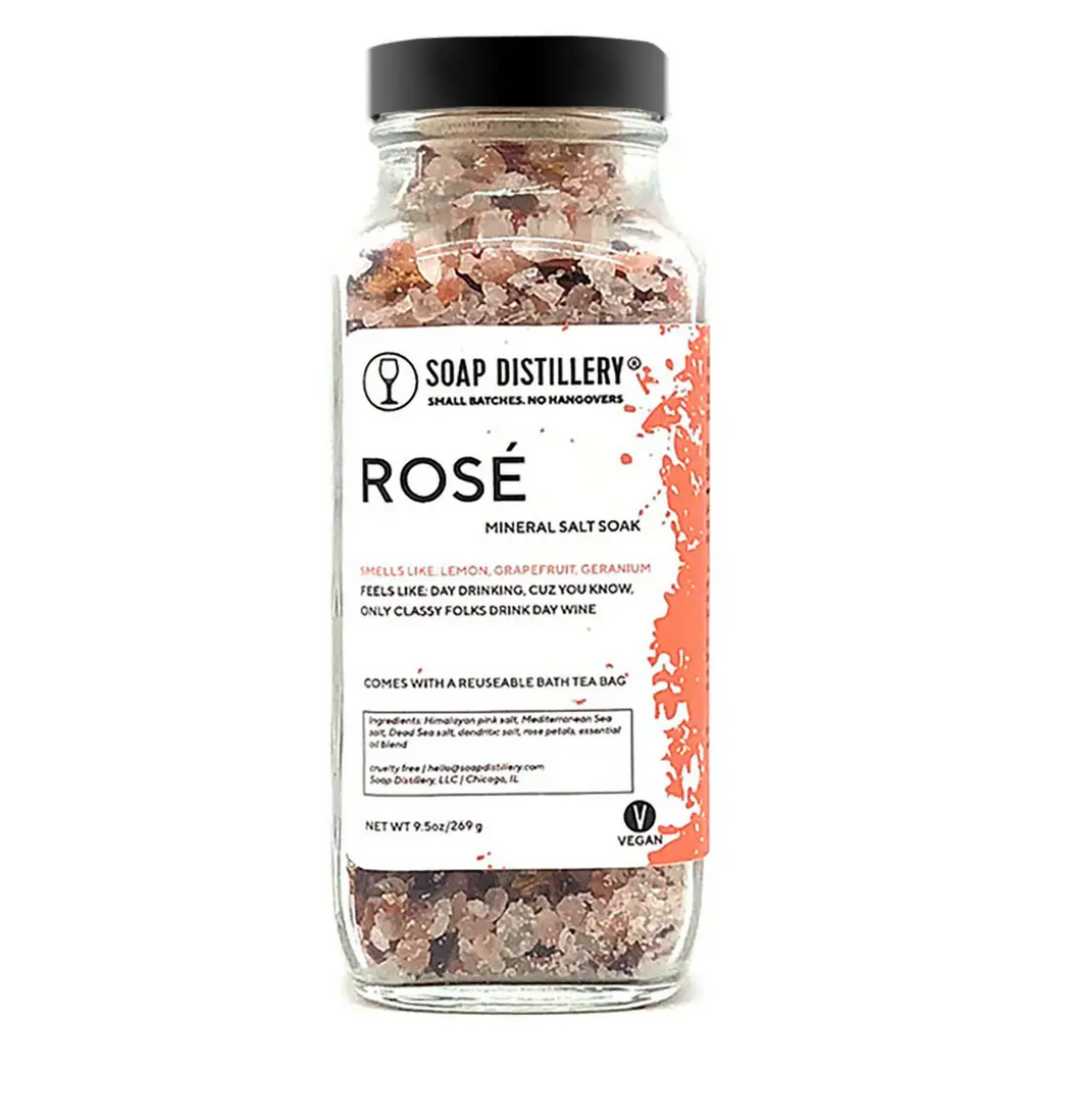 Soap Distillery Rosè Mineral Salt Soak
