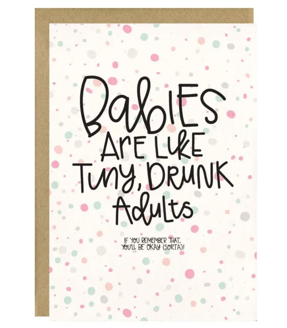 Little Lovelies Studio Tiny Drunk Adults-Baby