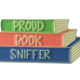 Little Lovelies Studio Proud Book Sniffer Enamel Pin