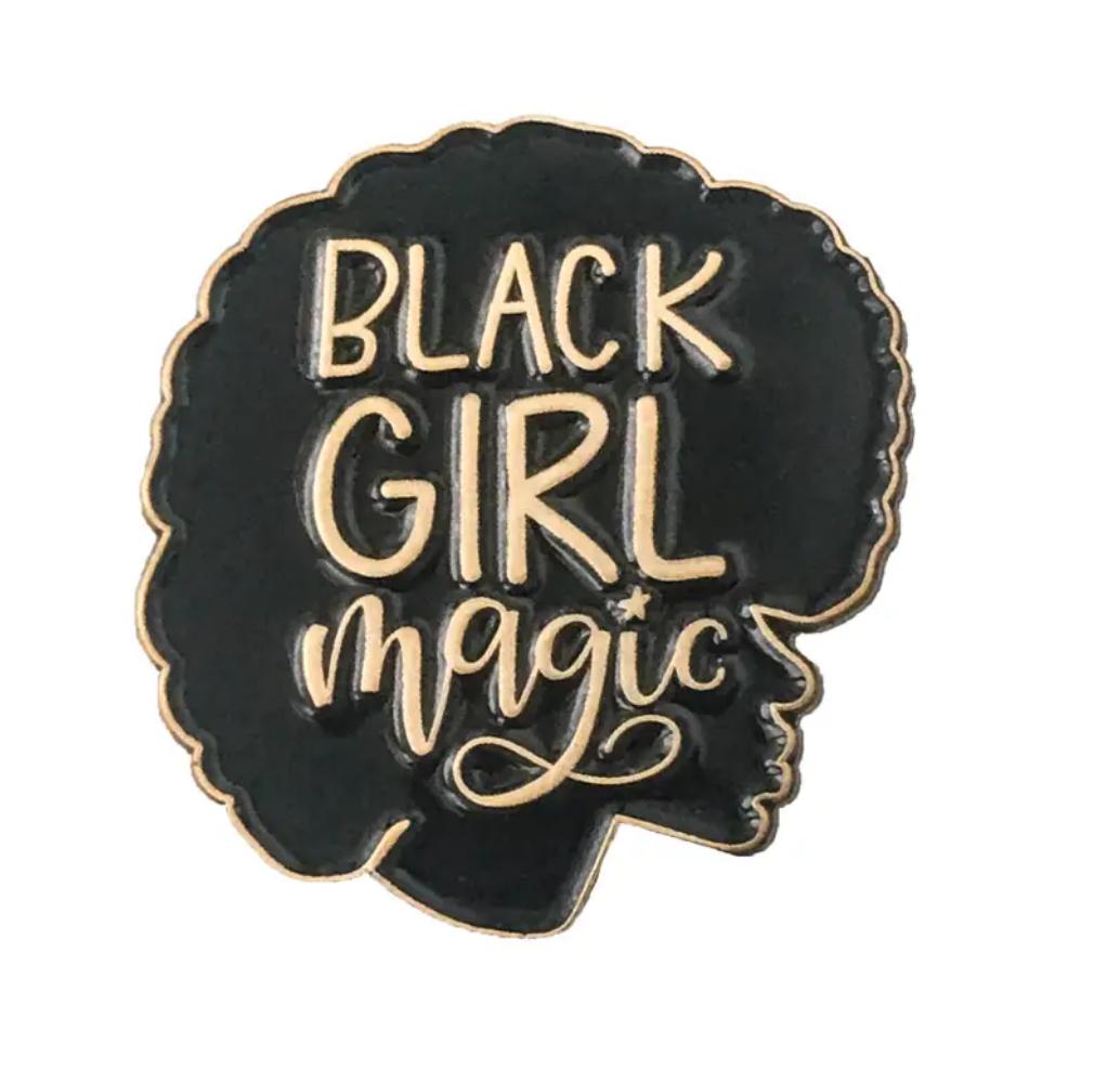 Little Lovelies Studio Black Girl Magic Lapel Pin