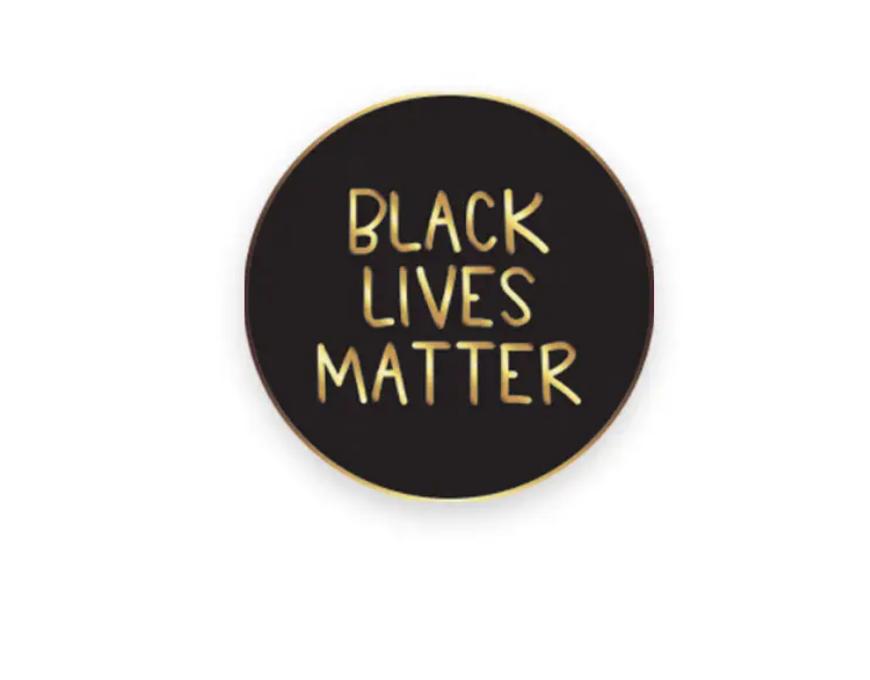 Little Lovelies Studio Black Lives Matter Lapel Pin