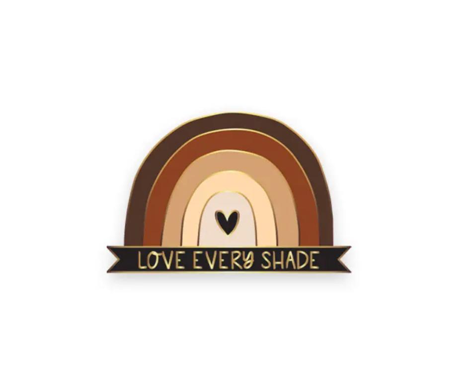 Little Lovelies Studio Love Every Shade Lapel Pin