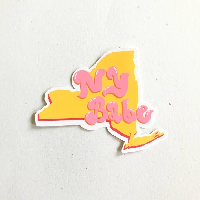Siyo Boutique New York State Sticker