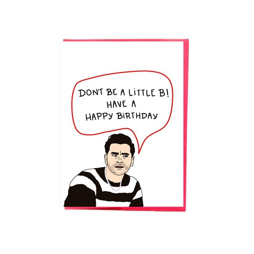 Siyo Boutique David Rose Birthday Card
