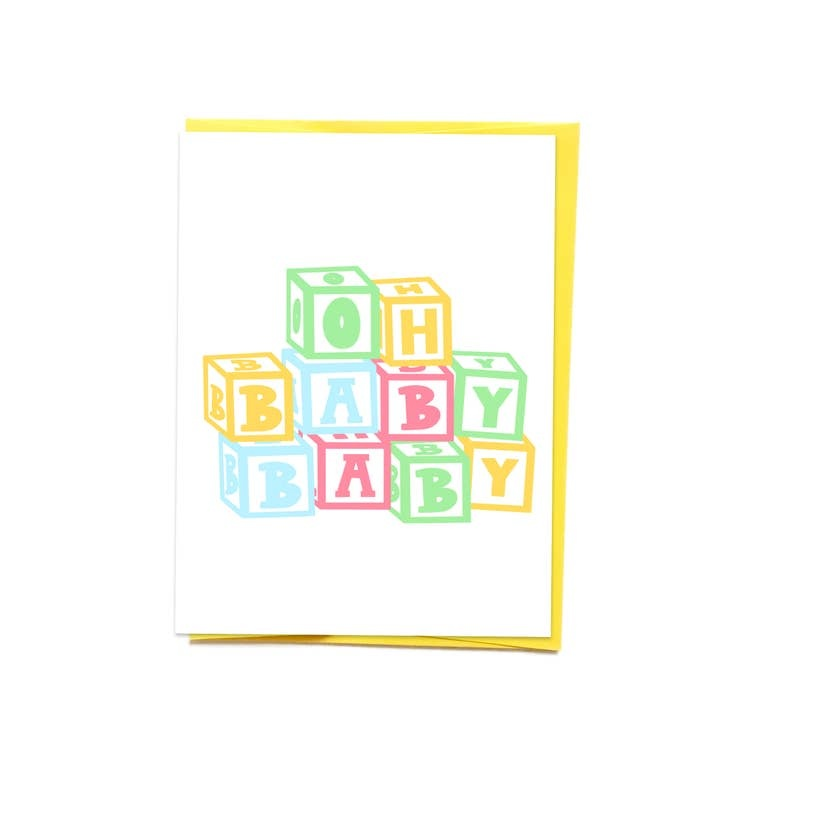 Siyo Boutique Oh Baby Baby Card