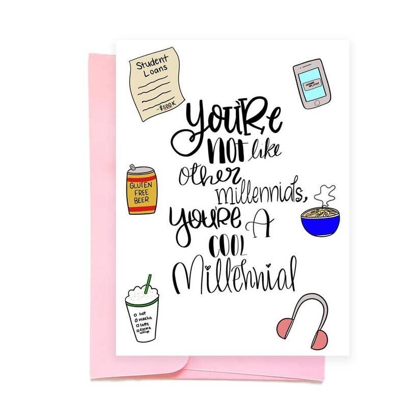 Siyo Boutique Cool Millennial Card