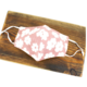 Pretty Persuasions DAISY REUSABLE MASK (ADJUSTABLE STRAPS) - Pink