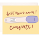 Bloomwolf Studio Pregnancy Congrats Greeting Card