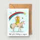 Abbie Paulhus Magical Birthday Greeting Card
