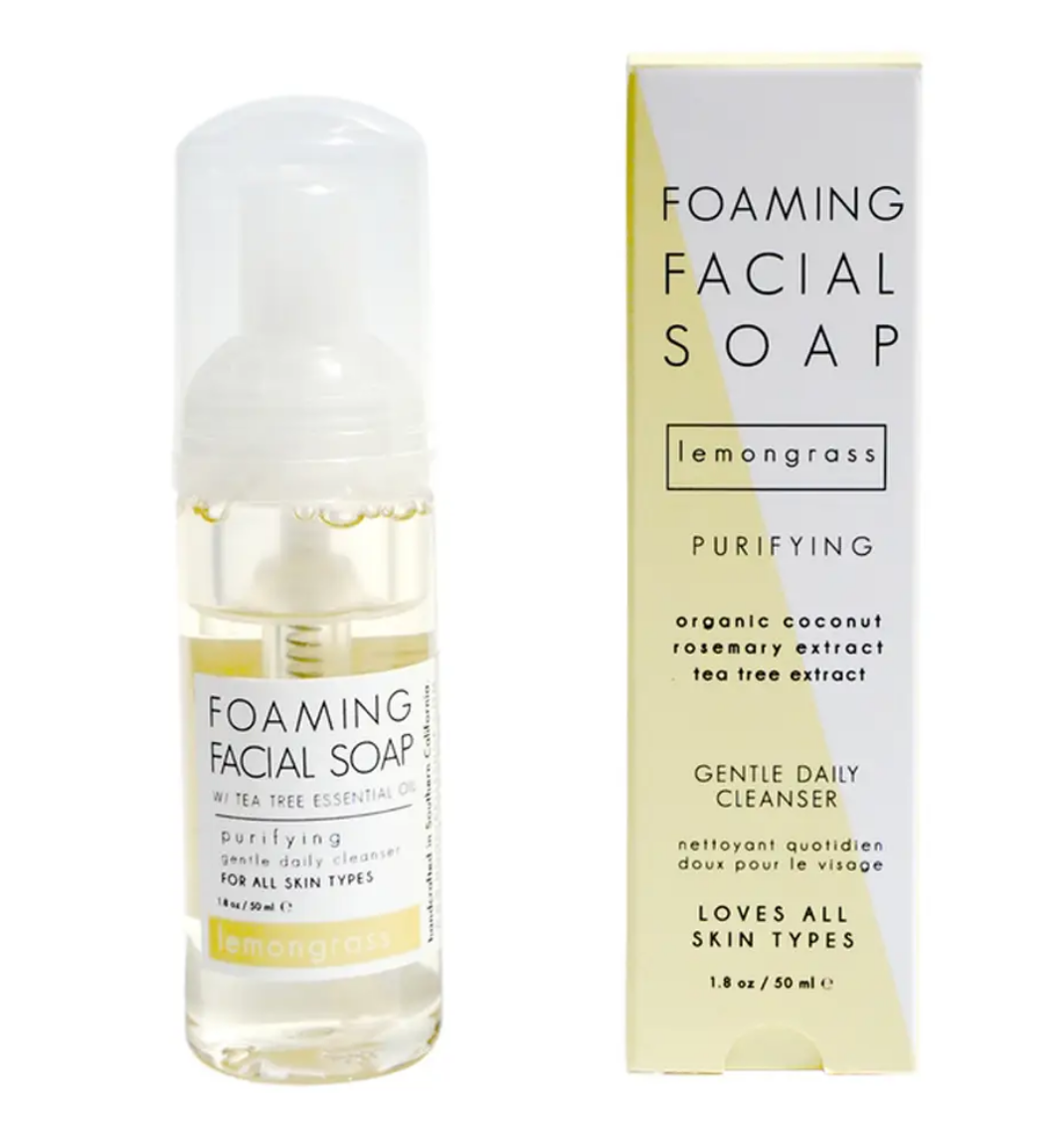 Honey Belle Foaming Lemongrass Facial Cleanser