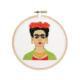 The Stranded Stitch Frida Cross Stitch Kit
