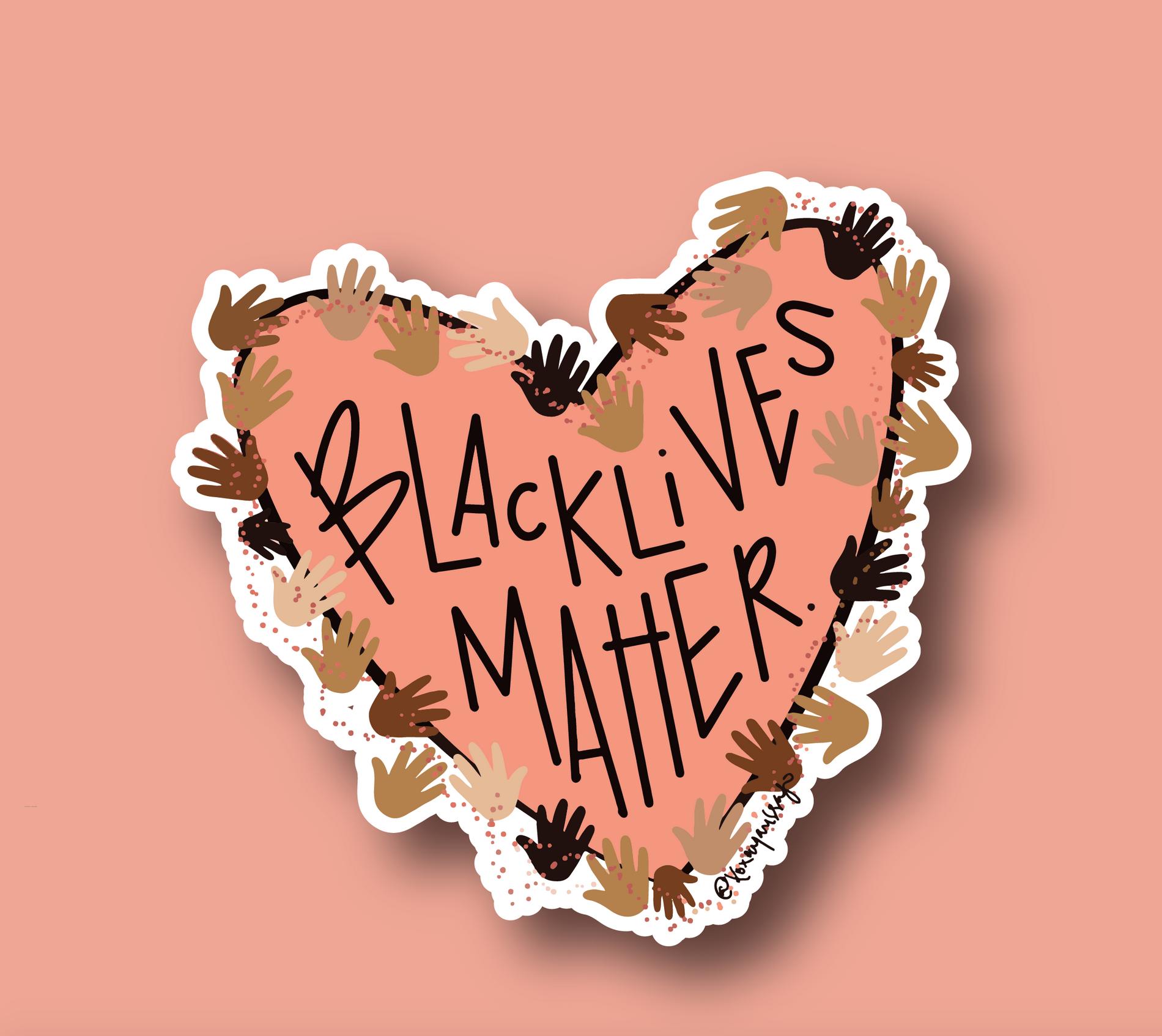 Marissa Monroe Studio Black Lives Matter Sticker