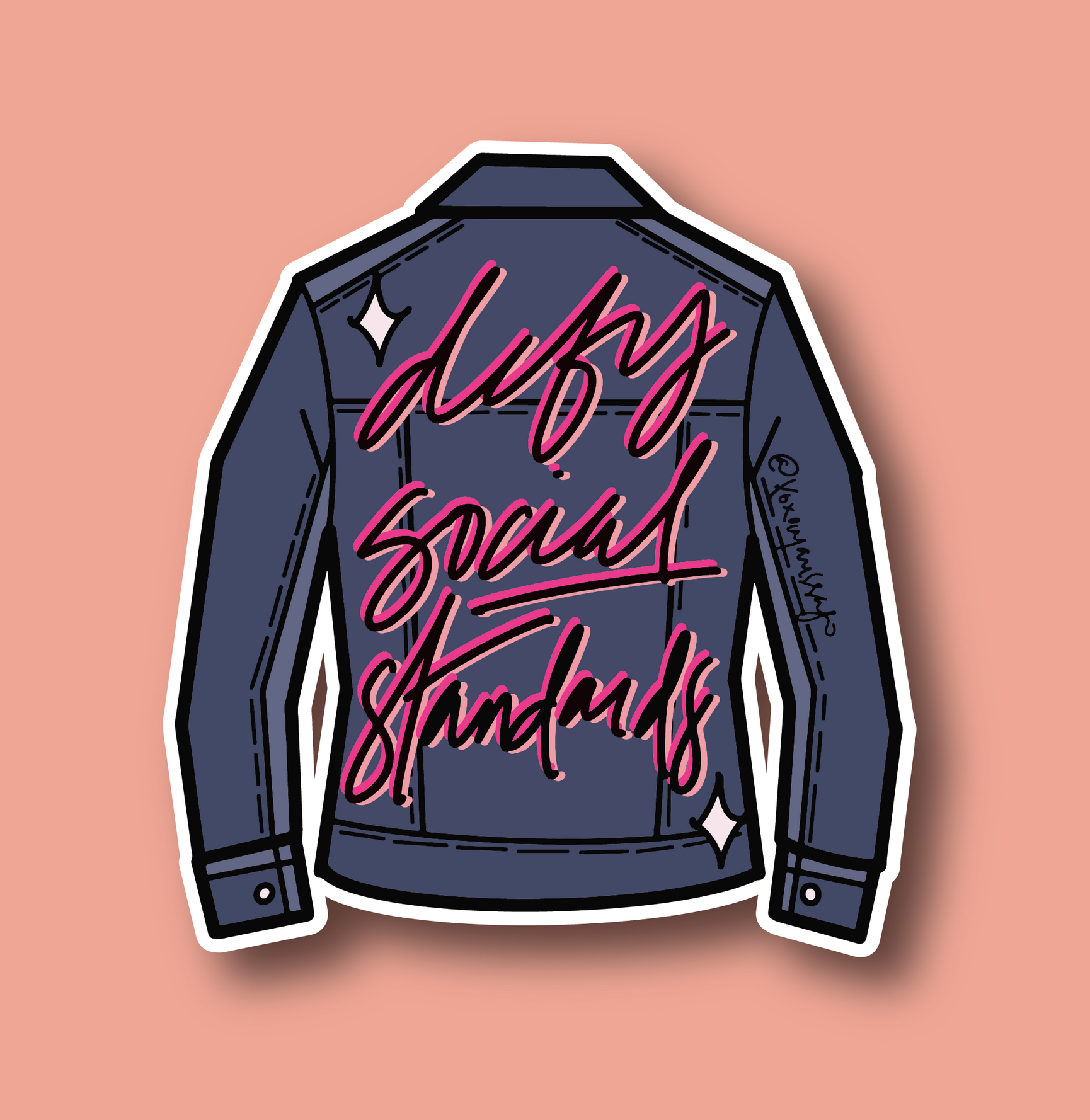 Marissa Monroe Studio Defy Social Standards Sticker-FINAL SALE
