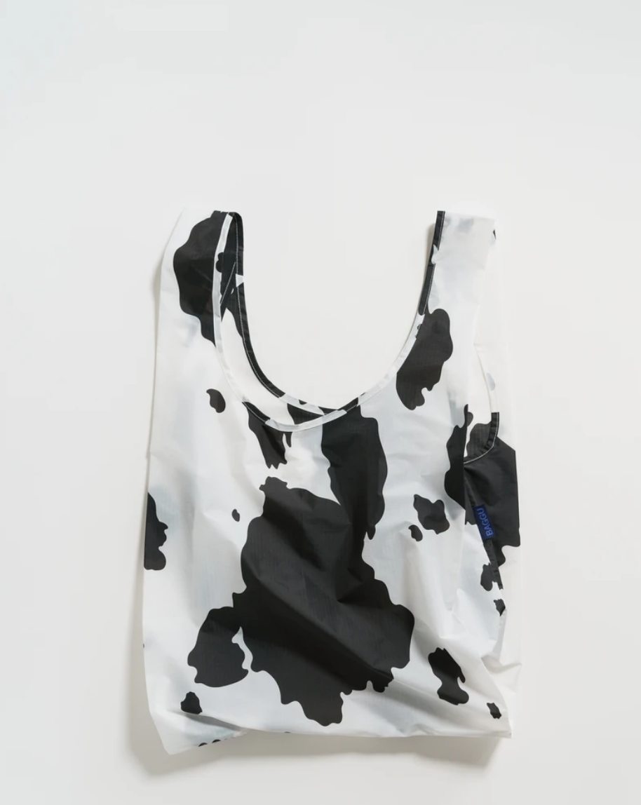 Baggu Standard Baggu - Black and White Cow