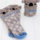 Natural Life Koala Cozy Sock