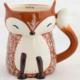Natural Life Folk Mug Cozy Fox