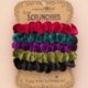 Natural Life Jewel Tone Velvet Scrunchie Set