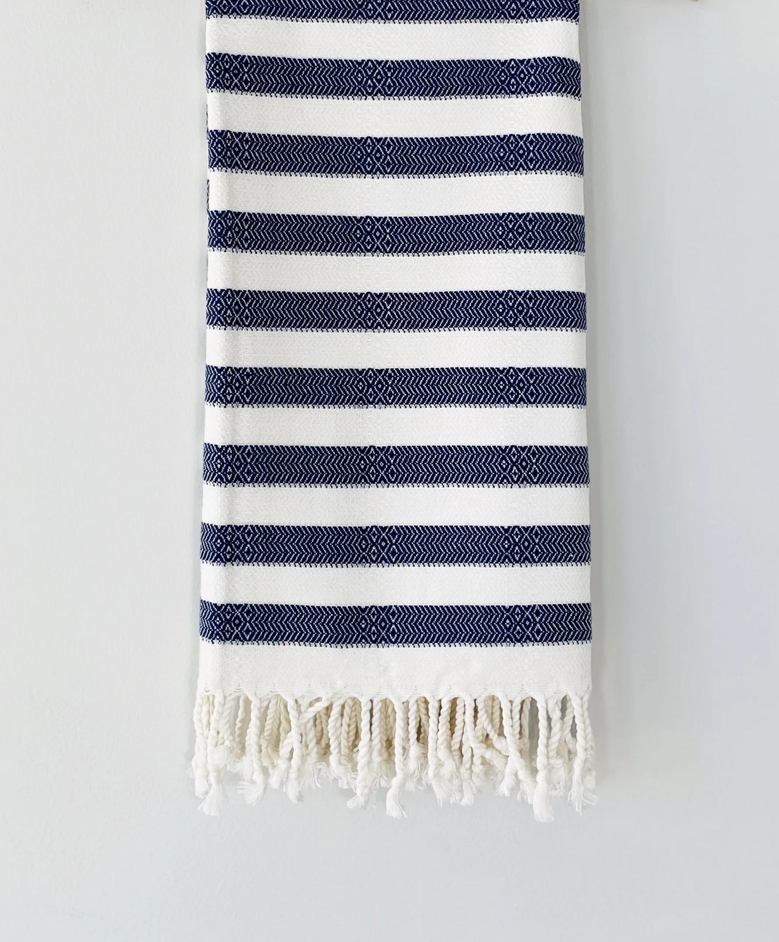 Beach House Towels Morocco Turkish Towel- Navy