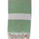 Beach House Towels Pyrus Turkish Towel-Green