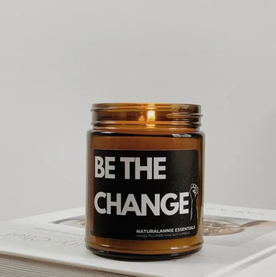 NaturalAnnie Essentials Be The Change! 9oz-Black Amber & Plum