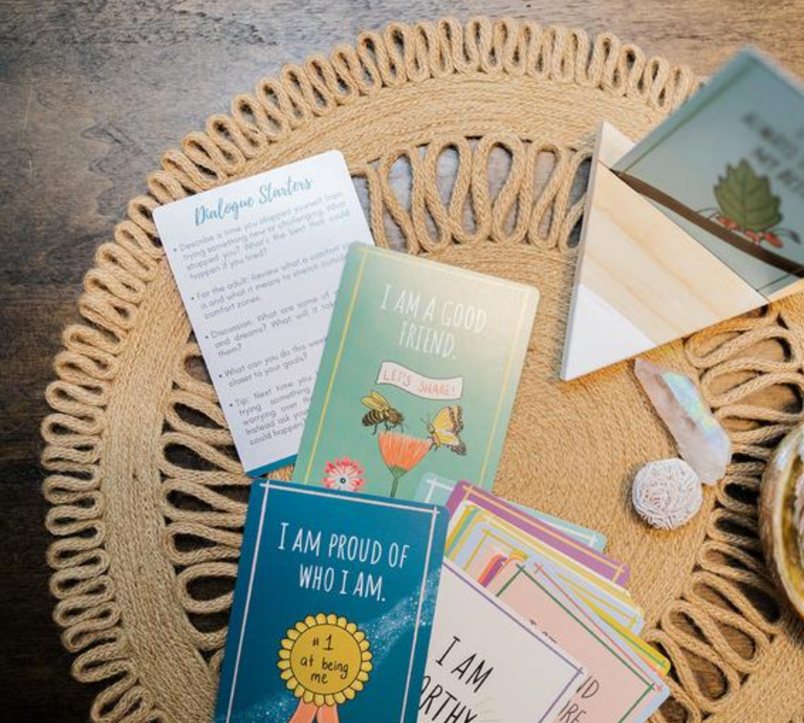 The Salvaged Sawhorse Kids Affirmation Deck