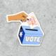 Citizen Ruth Literally Anyone Else Sticker