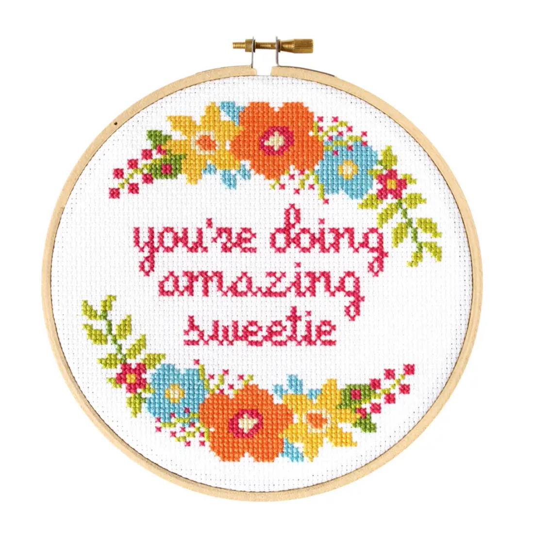 The Stranded Stitch Sweetie Cross Stitch Kit