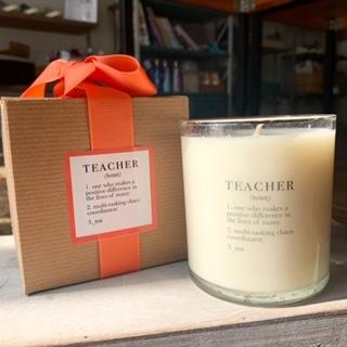 Ella B. Candles Teacher Definition Candle