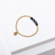 Larissa Loden VOTE Bracelet- Black/Gold Filled - FINAL SALE