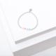 Larissa Loden VOTE Bracelet- Rainbow/Sterling