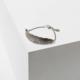 Larissa Loden Feather Cuff Bracelet-Silver