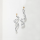 Larissa Loden Ashley Mary Squiggle Earrings
