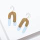 Larissa Loden Shea Earrings-Blue