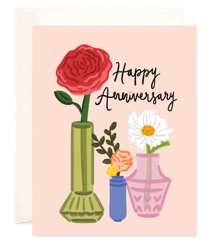 Bloomwolf Studio Anniversary Vases