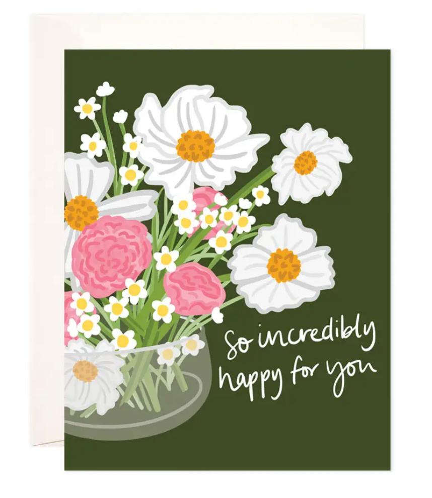 Bloomwolf Studio Happy Daisies Card