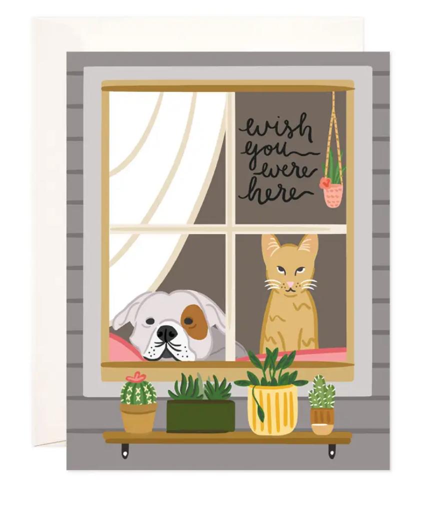 Bloomwolf Studio Wish You Were Here Pets