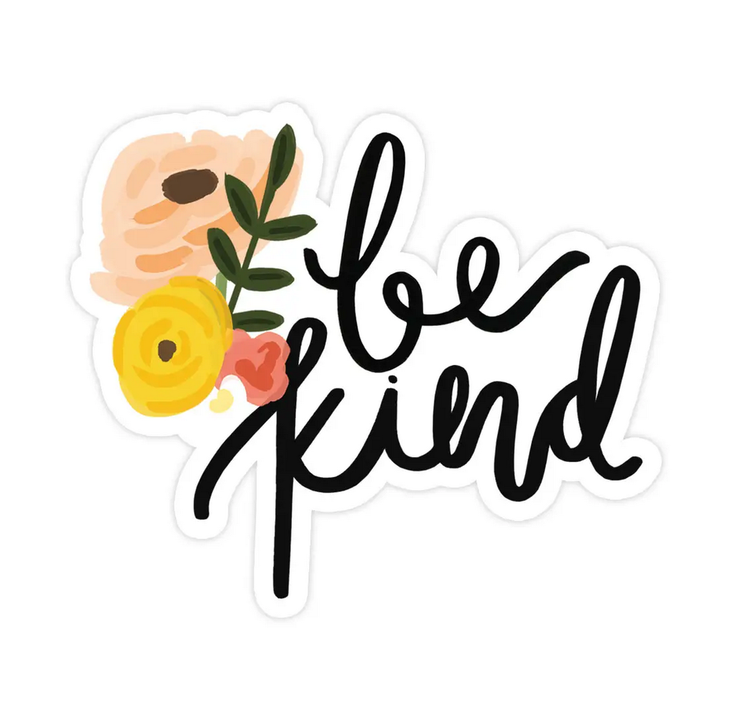Bloomwolf Studio Be Kind Sticker